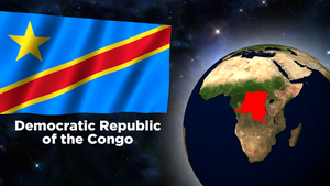 Flag Wallpaper - Democratic Republic of the Congo by darellnonis