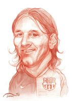 Messi Caricature by StDamos