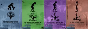 Environmental Change Posters by Takes2ToTricycle