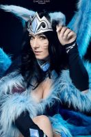 Midnight Ahri cosplay by Bahamut95