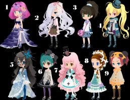 Simple Girls Trade to adopt by AdoptableSoulxHeart