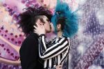 Deathrock kiss