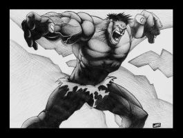 The Incredible Hulk COMMISSION by JTIllustrations