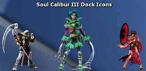 Soul Calibur III Dock Icons by nded