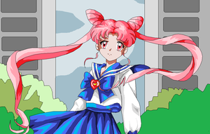 chibiusa XD colored by kanogt