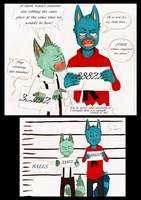 Raccoon Brothers::Page002 by TotemEye