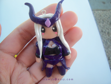 Syndra League of Legends Polymer Clay by Stawry