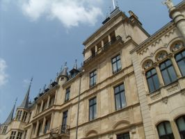 Facade of the Grand Ducal Palace in Luxemburg by BMFMhero1991