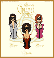 Request Prize - Charmed Superheroines by Femmes-Fatales