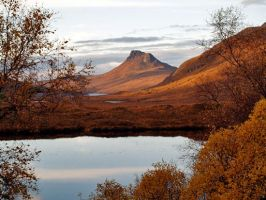 Stac Pollaidh reflections by piglet365