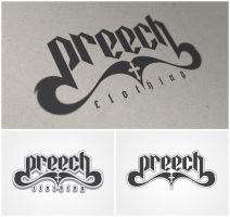 preech clothing - logo by xtianares