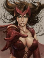 Scarlet witch by wizyakuza