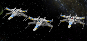 LEGO Star Wars - Blue Squadron by Aryck-The-One