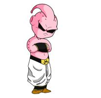 Kid Buu by HigashiKaioshin