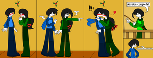 RQ - Mistletoe (TxE) (hungarian in description) by lovesdrawing721