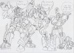 TF_MTMTE: Starship Stooges by BlueIke