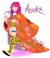 [WWE/NXT]Asuka by Shinkumancer