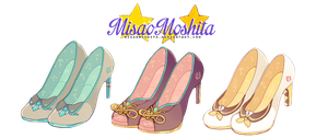 Miku Luka Rin Shoes (?) by MisaoMoshita