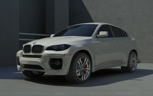 BMW X6 almost final render by mucsiattila