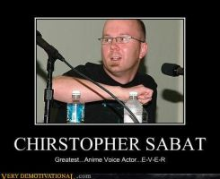 Christopher Sabat by FallenJace