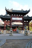 Chinese garden Stock 34 by Malleni-Stock