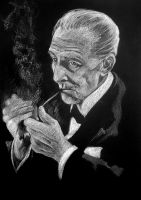 Peter Cushing, The masks of Death by Pidimoro