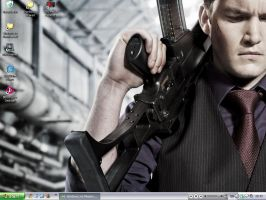 Ianto Jones Desktop by thelochjessmonster