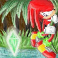 Knuckles working by franikku