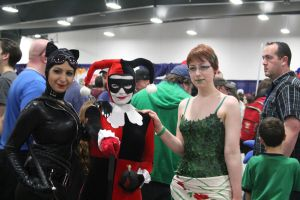 Catwoman, Poison Ivy, and Harley Quinn by VoiceofSupergirl