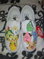 Pokemon Shoes by SavannaBananaSplit