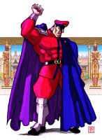 The games are open - M.Bison / Vega by Shadaloo1989