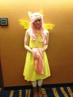 BABScon 2015: Fluttershy Cosplayer by GamerSpax