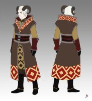 Character Design: Laith by jogeart