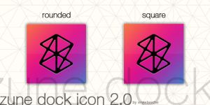 zune dock icon 2.0 by engelasche