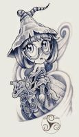 Halloween Promotional Witch by Klyde-Chroma