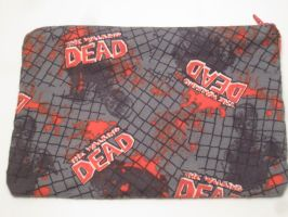 The Walking Dead Zipper Bag by colbyjackchz