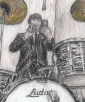 Ringo Starr taking a selfie by gagambo