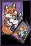 Foxiv Couples Keyring by shiverz