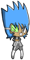 Mischievous Chibi Chaz Miazza by Crystal-Moore