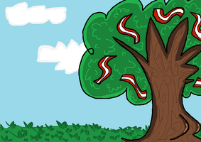 The bacon tree by Huntertallonian