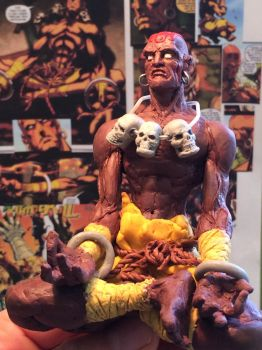 Dhalsim figure Street Fighter by wulf7