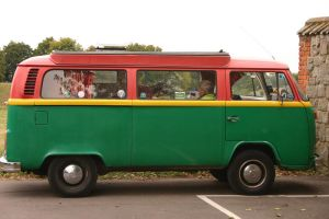 Vintage VW Van by FoxStox