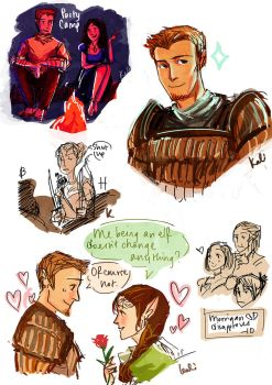 Dragon Age: Origins- Dump by reubelyn