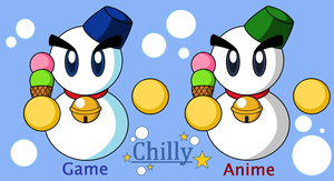 Kirby Helpers - CHILLY by SuperMarioFan888
