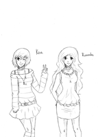 KHR OCs sketch batch 3 by LotteQ