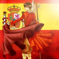 HETALIA: Spain by razephyr