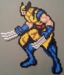 Wolverine Perler by DuctileCreations