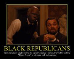Black Republicans Motivational Poster by DaVinci41