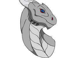 First Attempt Zarrom Dragon Form Finished by Zarrom