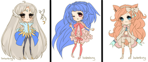 Mini Chibis Batch 2 by Miivei